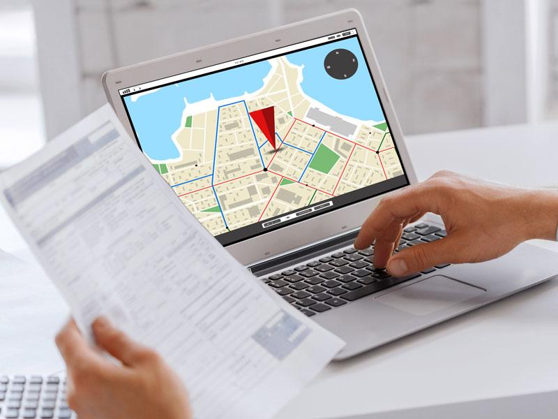 GPS Nachweis für die Verteilung